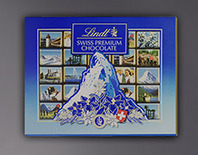 FORCHOCOLATE-LOVERS Lindt Napoiltain-Box 142g of Finest Swiss chocolate  CHF 9.55